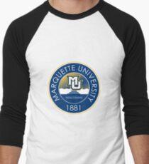 Marquette University Baseball ¾ Sleeve T-Shirt
