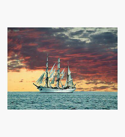 Quiet Evening at Sea Photographic Print