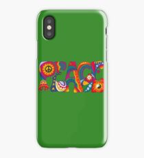 Psychedelic Peace iPhone Case/Skin