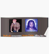 Buffsuki vs God Poster