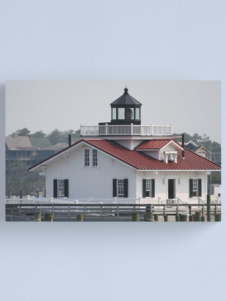 Alternate view of Roanoke Island Lighthouse Canvas Print