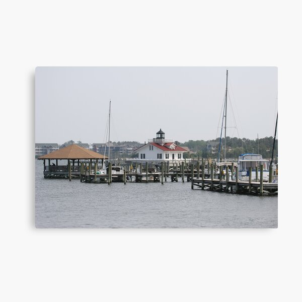 Roanoke Island Lighthouse Canvas Print