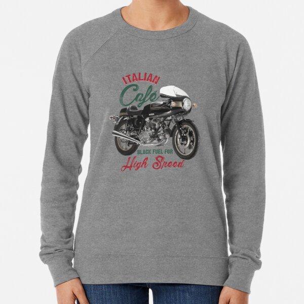 Hoodie BLACK DUCATI biker motorbike motorcycle vintage ITALIAN