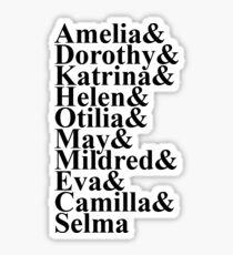 Theta Phi Alpha Founders Sticker