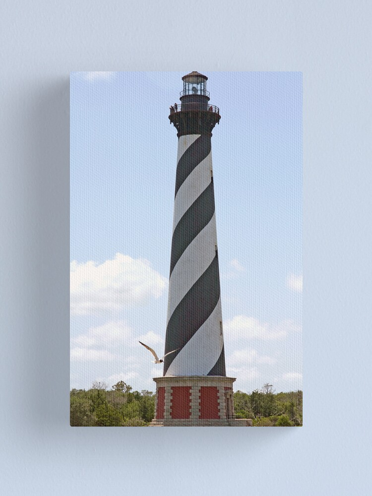 Alternate view of Cape Hatteras Lighthouse Canvas Print