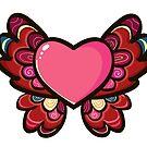 Heart Butterfly by Elsbet
