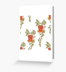 Home flower Greeting Card