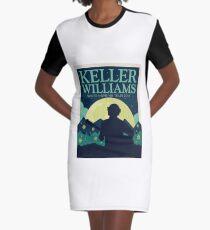 keller williams  Graphic T-Shirt Dress