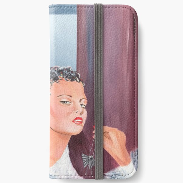 Art Deco Necklace iPhone Wallet