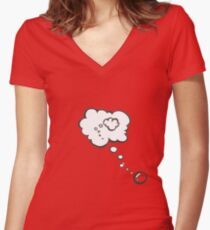 Thought bubble Women's Fitted V-Neck T-Shirt