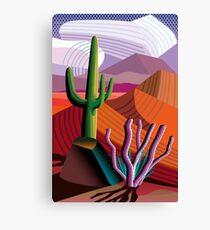 Black Canyon (Arizona Desert) Canvas Print