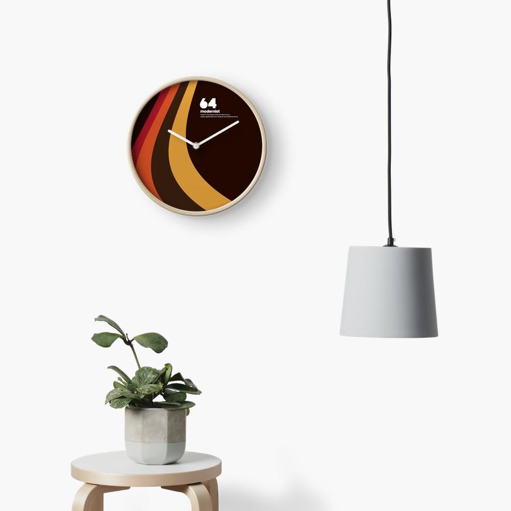 64 Modernist Clock