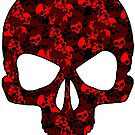 Camo Skull (red) by PixelBoxPhoto