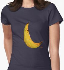 Banana Nose Women's Fitted T-Shirt