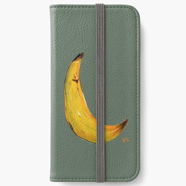 Banana Nose iPhone Wallet