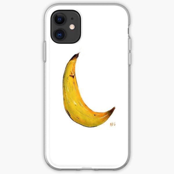 Banana Nose iPhone Soft Case