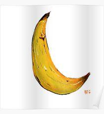 Banana Nose Poster