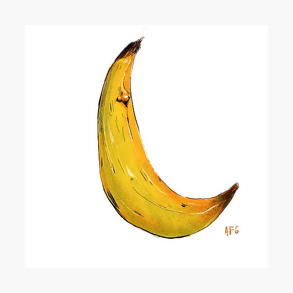 Banana Nose Photographic Print