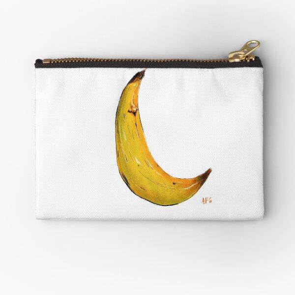 Banana Nose Zipper Pouch