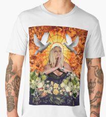 The Holy Spearit LARGE PRINT Men's Premium T-Shirt