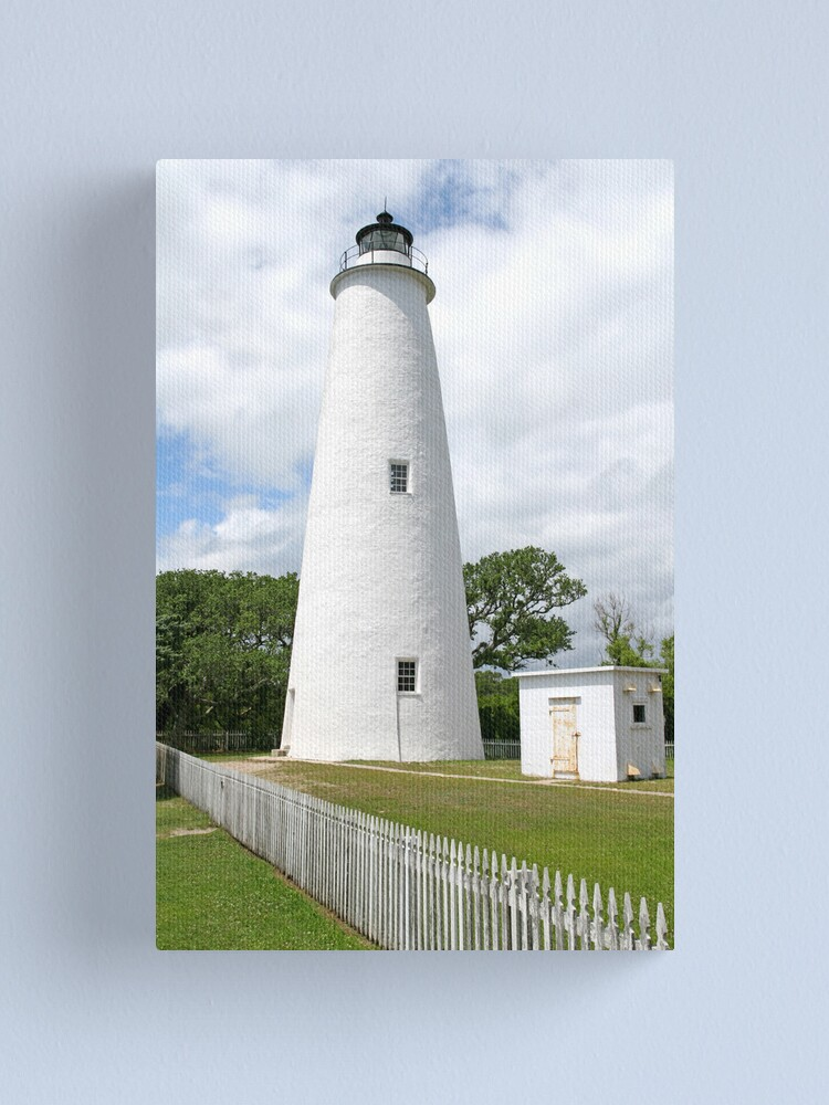 Alternate view of Ocracoke Island Lighthouse Canvas Print