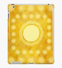 """Vinilo o funda para iPad """"Gold & Yellow Ethnic Sun (Pattern)"""""""