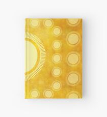 "Cuaderno de tapa dura ""Gold & Yellow Ethnic Sun (Pattern)"""