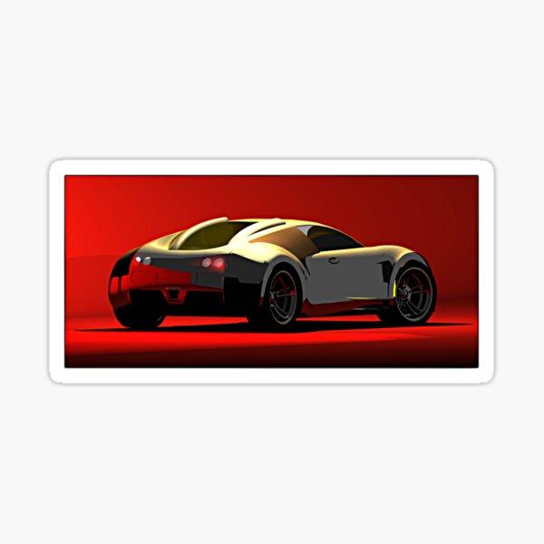 Bugatti Veyron Sticker