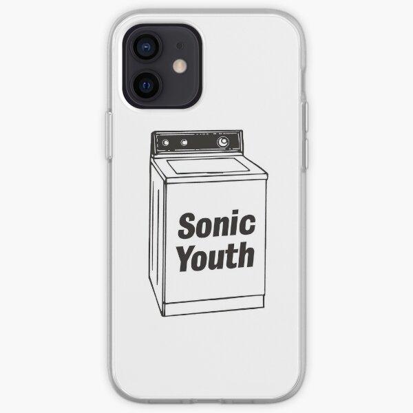 sonic jeunesse autocollant de carton de lait Coque souple iPhone