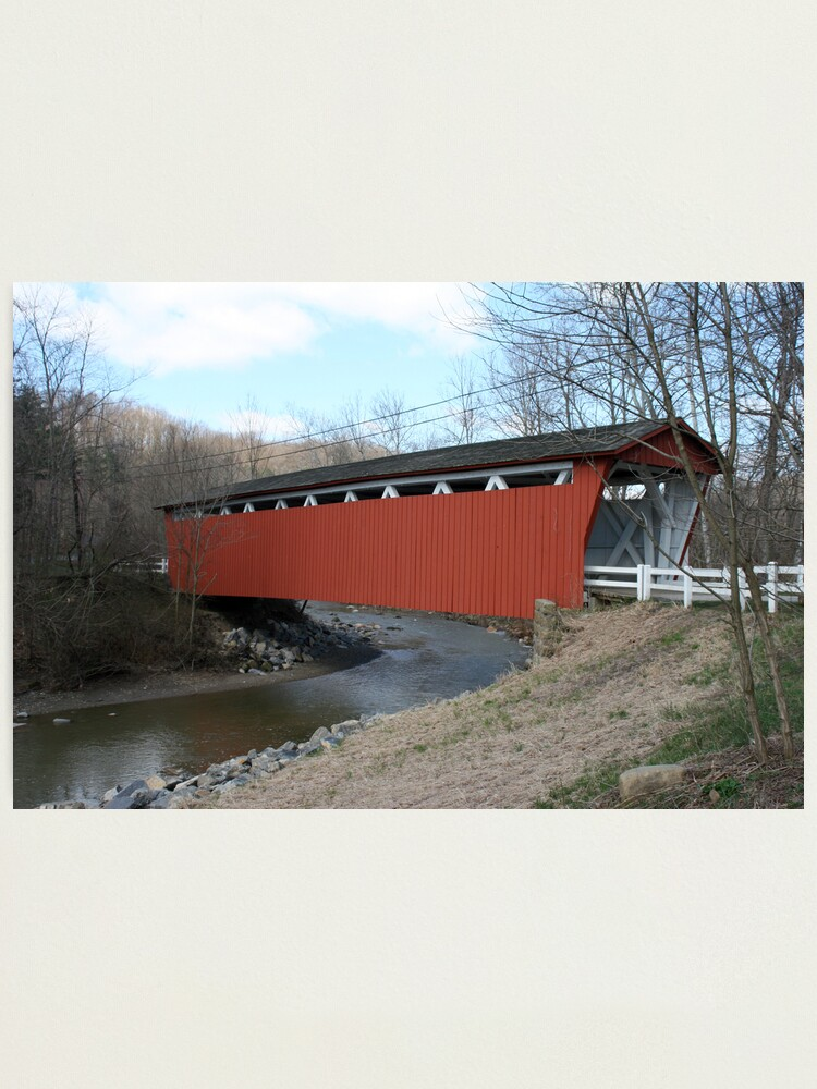 Alternate view of Covered Bridge Photographic Print