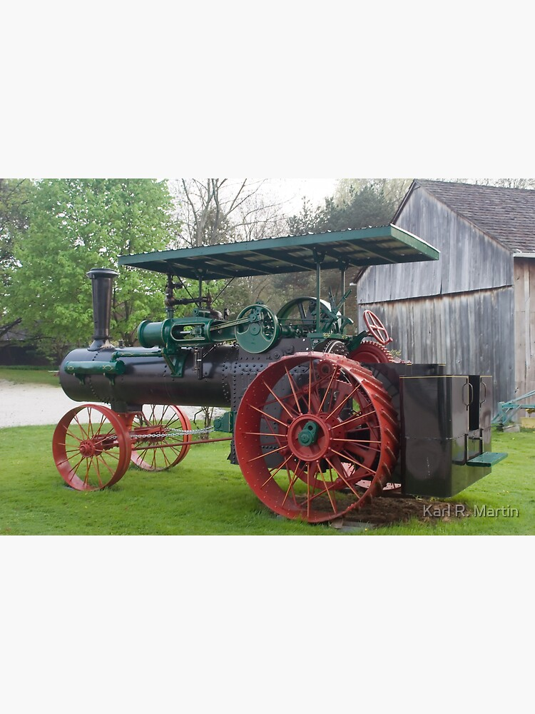 Antique Tractor by SirEagle