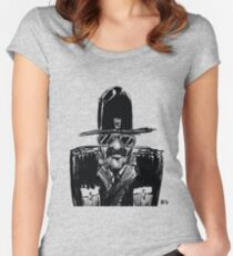 State Trooper Women's Fitted Scoop T-Shirt