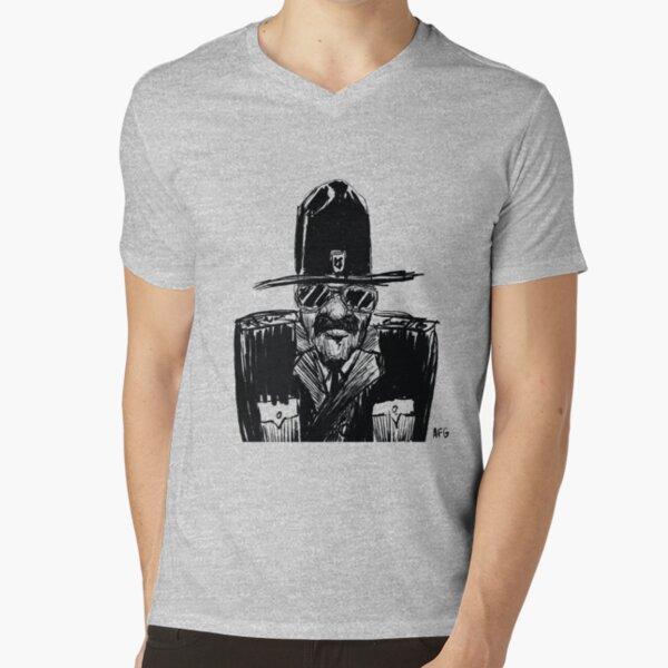 State Trooper V-Neck T-Shirt