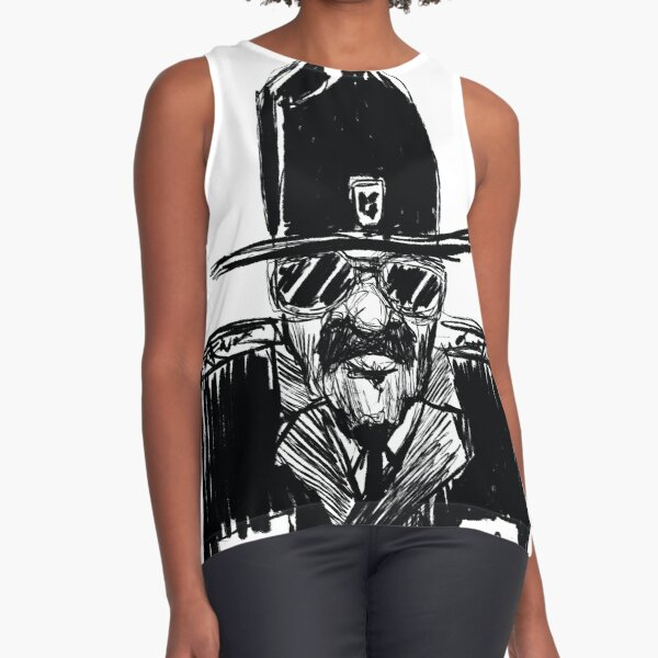 State Trooper Sleeveless Top