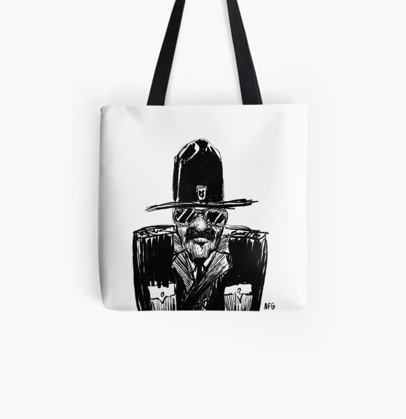 State Trooper All Over Print Tote Bag