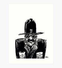State Trooper Art Print