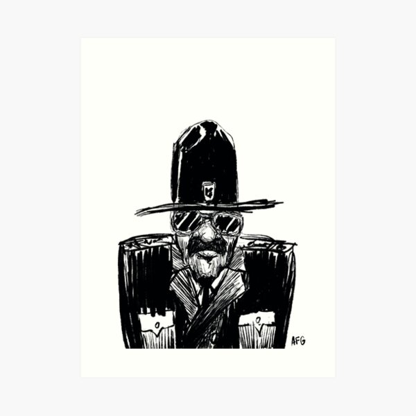 State Trooper Art Print