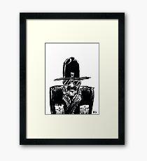 State Trooper Framed Print