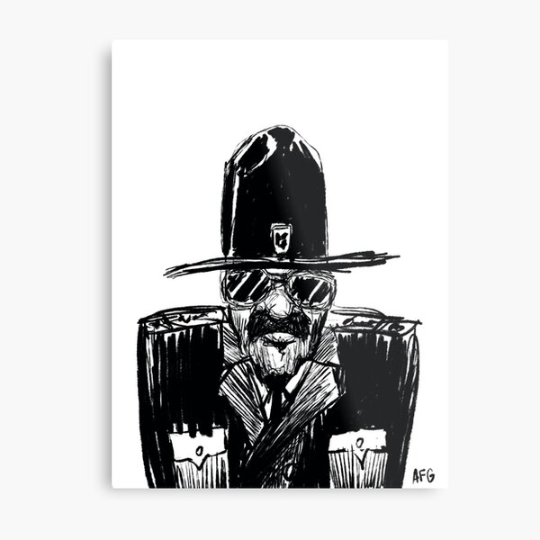 State Trooper Metal Print