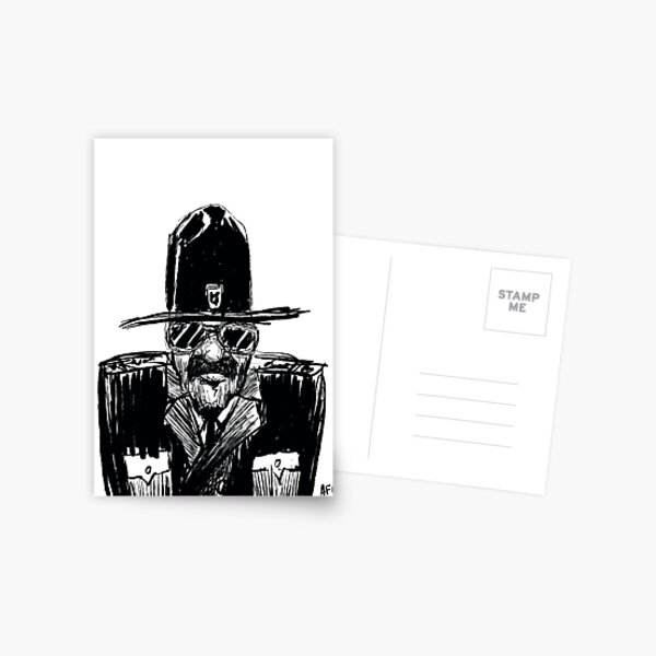 State Trooper Postcard