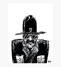State Trooper Photographic Print