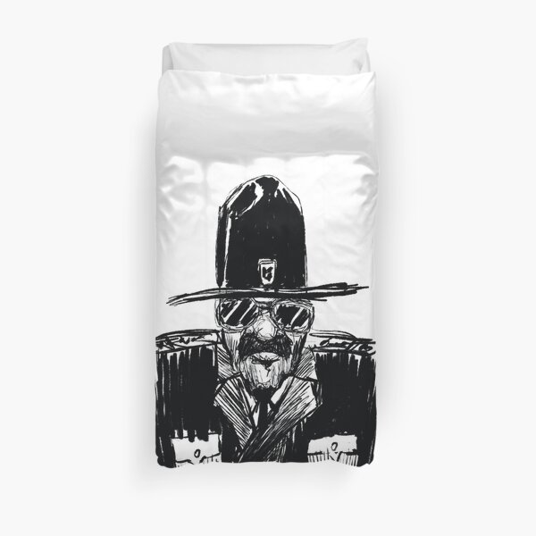 State Trooper Duvet Cover