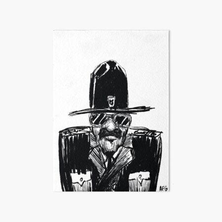 State Trooper Art Board Print