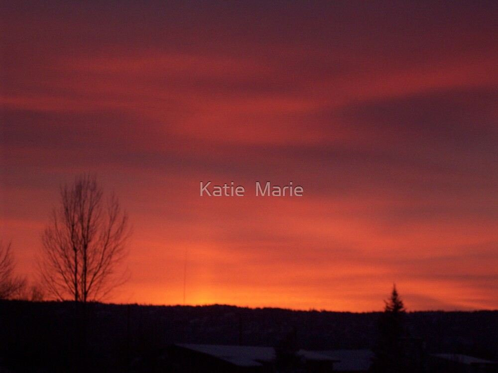Sunset...again by Katie  Marie