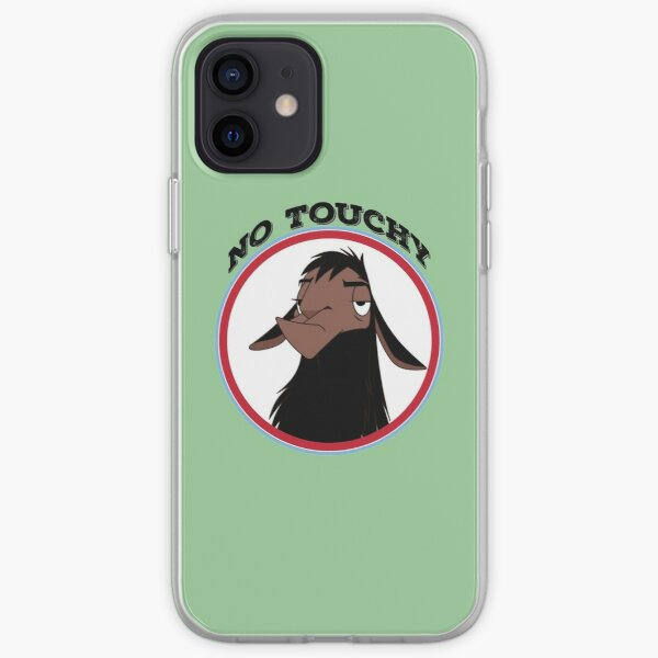 Kuzco NO TOUCHY sad llama emperor's new groove emperor david spade back off no touch funny gift iPhone Soft Case
