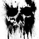 Skull Drip (black) by PixelBoxPhoto