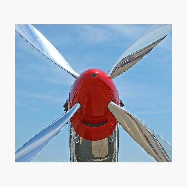 Propeller Photographic Print