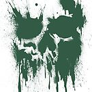 Skull Drip (green) by PixelBoxPhoto