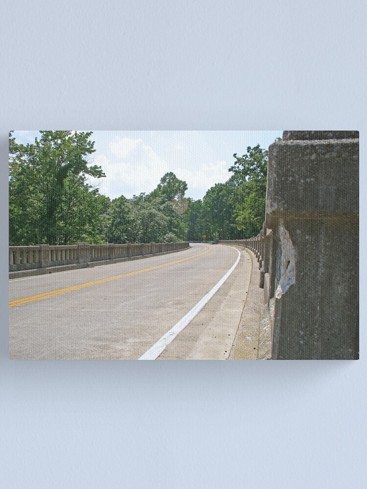 Alternate view of Mountain Road Canvas Print