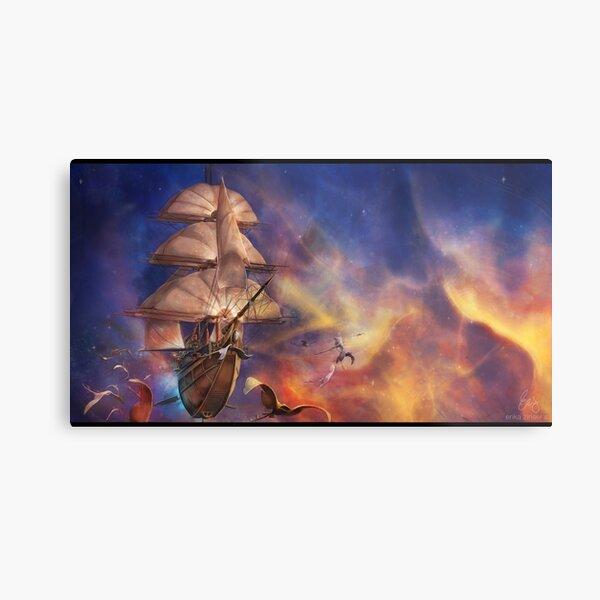 Treasure Planet Metal Print